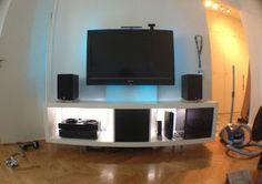 blog.bejbi.se: Ikea DIY Expedit Media Center