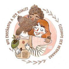 Las mujeres hemos recorrido un largo camino y todavía nos queda muchísimo por lo que luchar. Pero si algo me llevo del día de hoy es la hermandad la sororidad. Hoy fuí a la Plaza de Mayo y nunca me sentí tan segura tan respaldada tan comprendida y tan contenida en medio de tanta gente. Allá en la calle acá en las redes en los grupos de amigxs todos los días lo veo lo siento: ya no estamos solas nos tenemos las unas a las otras   Imagen de @aymaramont  #8M #diadelamujer #niunamenos… Banners, Some Good Quotes, Nice Quotes, Girl Empowerment, Feminist Art, Intersectional Feminism, Great Words, Power Girl, Watercolor Illustration