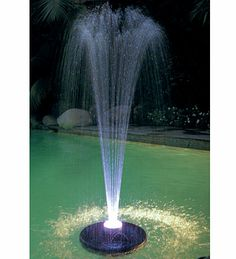 Floating Party Pool Lights | floating led light show and fountain