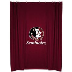 Use this Exclusive coupon code: PINFIVE to receive an additional 5% off the Florida State University Seminoles Shower Curtain at http://SportsFansPlus.com