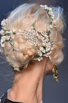hair Dolce  Gabbana S/S 2014