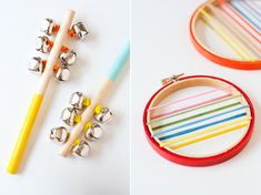 El blog de Dmc: Ideas creativas con bastidores de bordado