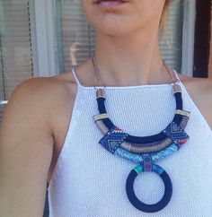 Miley Choker Rope Necklace Statement Necklace Choker