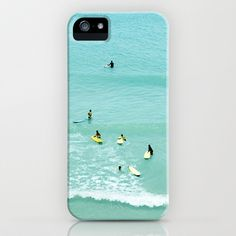 Surfing vintage. Summer dreams iPhone & iPod Case by Guido Montañés - $35.00