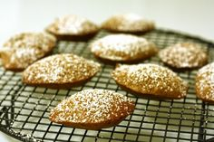 Coconut French Madeleines