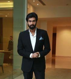 ❤️ Rana Daggubati, Groom Attire, Indian Celebrities, Indian Hairstyles, Man Crush, Telugu, King, Actors, Colour
