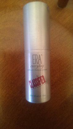 Pending!!! Era everyday airbrush makeup primer by classified cosmetics retail $30.00  Used once.