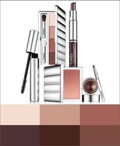 Осенние оттенки макияжа |Осень-зима 2014/2015 на Fashion-fashion.ru