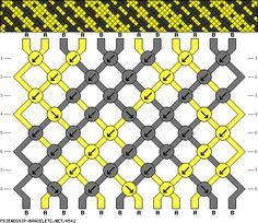 12 strings 8 rows 2 colors