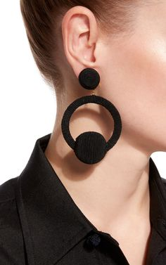 Christy Hoop La La Earrings by Rebecca de Ravenel