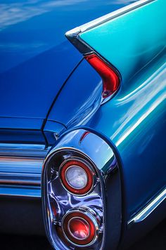 1960 Cadillac Series 62 Convertible Taillight - Car Images by Jill Reger