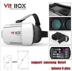 #Google Cardboard VR BOX Version Virtual Reality #3D Glasses + Smart Bluetooth #Wireless R…