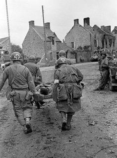 8th Infantry Division in La Haye-du-Puits