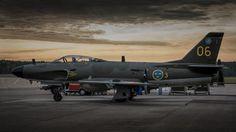 3 / 06 - Sweden - Air Force SAAB J 32 Lansen photo (300 views)