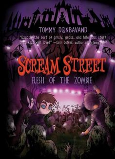 Deadstock, the world's greatest zombie rock festival, comes to Scream Street, but when the headlining band is banished to the evil Underlands and townsfolk riot, Luke and his friends must restore peace if they plan to continue their search for the relics that will allow Luke to return home.