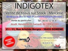 Indigotex, vente de tissu - indigotex