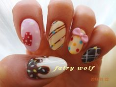 Private nail salon fairy wolf (Fairy Wolf) | Valentine nail ♪