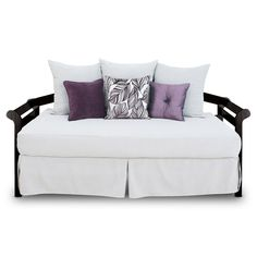 rainmaker smoke fitted daybed cover and bed skirt at the foundary