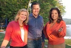 Ann Romney's Interview   Mitt and Ann Romney's interview with Oprah Winfrey