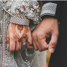 Image may contain: one or more people Cute Muslim Couples, Cute Couples Goals, Couple Goals, Muslim Wedding Ceremony, Engagement Mehndi Designs, Muslimah Wedding Dress, Couple Hands, Dulhan Mehndi Designs, Girls Dp Stylish