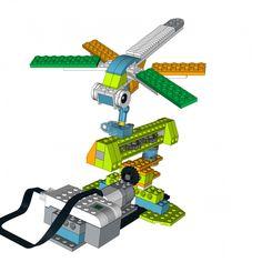 LEGO WeDo 2.0 project Dragonfly