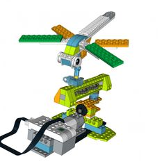 LEGO WeDo 2.0 project Dragonfly