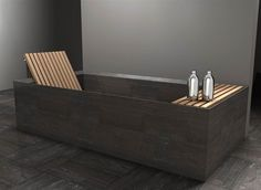 polished concrete onsen bathroom - Google Search