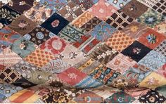 Perhaps the two Cassandras (mother and daughter) finished the quilt years after Jane's death in 1817. The Austen Quilt