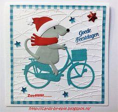 Cards-by-Epie: Week # 38 Kerstmuis