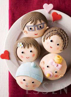 Happy Family Cupcakes