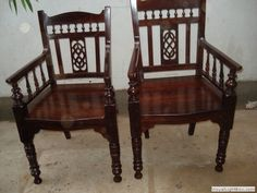 Rose wood chair Indian Furniture, Furniture Legs, Wooden Furniture, Furniture Design, Outdoor Furniture, Antique Furniture, Outdoor Decor, Indian Living Rooms, Indian Homes