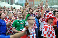 Poznan Poland, UEFA EURO 2012 Croatia all together, Old Market Square