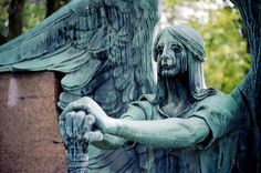 """6.) """"The Haserot Angel of Lakeview Cemetery"""" Cleveland, OH"""