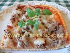 Tuňáková pizza Pizza, Baked Potato, Mashed Potatoes, Baking, Ethnic Recipes, Food, Whipped Potatoes, Smash Potatoes, Bakken