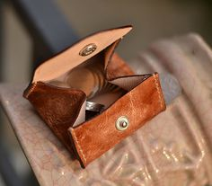 Men's / Women's Change Purse Coin Wallet Handmade by CLWorkshop