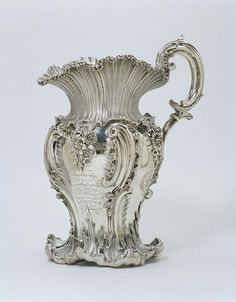 Rococo Silver Ewer made by Thomas Wimbush 1832