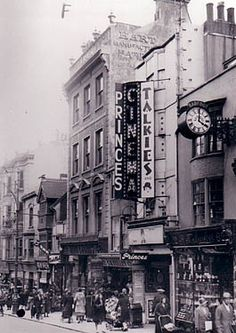 An Old Photo of Prince News Theatre in Brighton East Sussex England Brighton East Sussex, Brighton Rock, Brighton England, Brighton And Hove, Birmingham City Centre, Birmingham Uk, Photos Of Prince, Old Street, 6 Photos