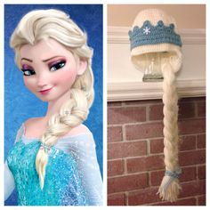 Elsa Inspired Princess Hat from Frozen by WithLoveByCole on Etsy, $27.00