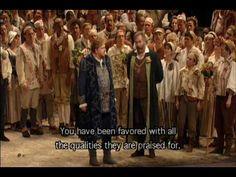 Die Meistersinger von Nürnberg finale - English subtitles Opera, English, Music, Movies, Movie Posters, Events, Musica, Musik, Opera House