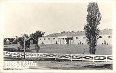 COLUMBIA, Missouri  MO   RAYNOR STABLES Stephens College  1940s   Postcard
