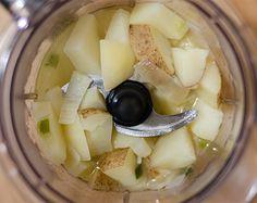 Potato Soup in Food Processor