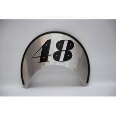 Handmade Windshield, made of aluminium. http://ferro29.com