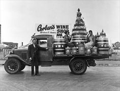 Corbans wine truck