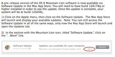 Apple Updates OS X Mountain Lion Developer Preview to Build 12A206j