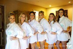 Oversized Bridesmaids Shirt Monogrammed Shirts Button Down. $45.00, via Etsy.