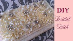 DIY Bridal Clutch Tutorial {LANA}