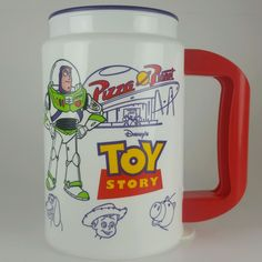 Disney's Toy Story Plastic Mug. Insulated for hot or cold drinks. Bottom marked Whirley U.S.A. | eBay!
