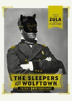 Recent Posters - Adam Hill / Velcrosuit - Graphic Design & Illustration