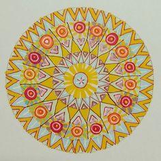 Another mandala... #mandalas #mandala Sacred Geometry, Mystic, Outdoor Blanket, Photo And Video, Artist, Projects, Inspiration, Instagram, Design
