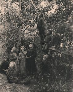 xushima:  John Dumont,Listening to the birds, 1892 Photogravure: Chine-collé